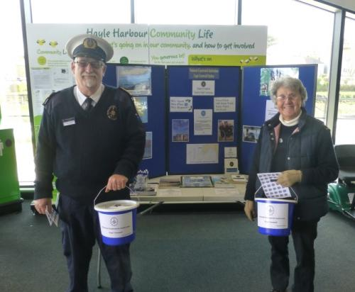 Collecting at Asda in Hayle 2015