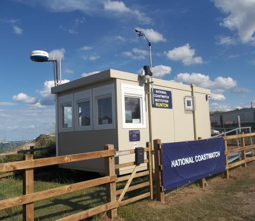 Runton-NCI Lookout Station Radar/Ramp Completed