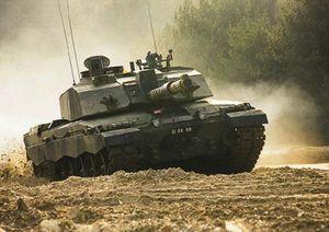 Tank on Lulworth Ranges