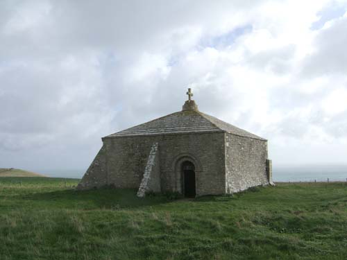 At Aldhelm's Chapel - Front View