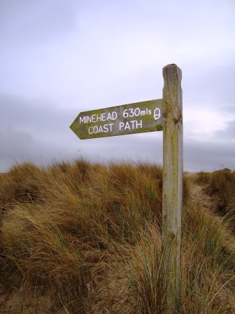 Southwest Coastpath start